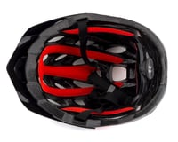 Image 3 for Kali Chakra Youth Snap Helmet (Gloss Black/Red)