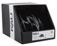 Image 4 for Kali Chakra Youth Snap Helmet (Gloss Black/Gray) (Universal Youth)