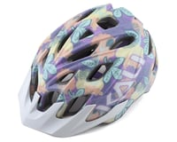 Image 1 for Kali Chakra Youth Helmet (Floral Gloss Purple) (Universal Youth)