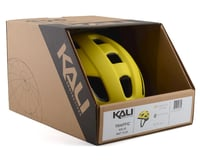 Image 4 for Kali Traffic Helmet (Solid Matte Yellow) (S/M)