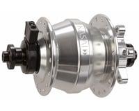 Kasai Dynacoil D6 IS-disc F Q/R hub, 9x100mm, 32h - silver