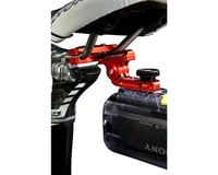 "Image 2 for K-EDGE GO BIG Pro Saddle Rail Universal (0.25""x20) Camera Mount, Red"