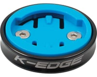 K-Edge Wahoo Gravity Stem Cap Mount for Wahoo Computers (Black)