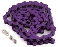 KMC S1 Single Speed BMX Chain (Purple)