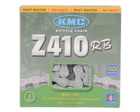 Image 3 for KMC Z410RB Rust Buster Chain (Silver) (Single Speed) (112 Link)