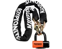 Kryptonite New York Chain 1217 and Evolution Disc Lock (170cm/5.5')