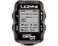 Image 3 for Lezyne Micro GPS Loaded Cycling Computer w/ Heart Rate (Black)
