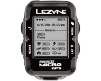 Image 3 for Lezyne Micro GPS Loaded Cycling Computer w/ Heart Rate & Speed/Cadence Sensor