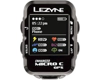 Image 3 for Lezyne Micro Color GPS Loaded Cycling Computer w/ Heart Rate (Black)