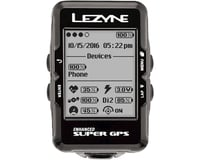 Image 3 for Lezyne Super GPS Loaded Cycling Computer w/ Heart Rate (Black)