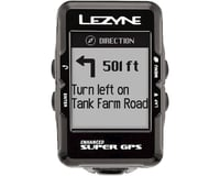 Image 5 for Lezyne Super GPS Loaded Cycling Computer w/ Heart Rate (Black)