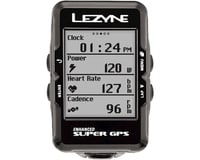 Image 6 for Lezyne Super GPS Loaded Cycling Computer w/ Heart Rate (Black)