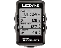 Image 6 for Lezyne Super GPS Loaded Cycling Computer w/ Heart Rate & Speed/Cadence Sensor
