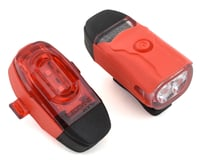 Lezyne KTV Drive Headlight and Taillight Set (Red)