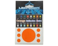 Image 2 for Lightweights Reflective Safety Dots (Orange)