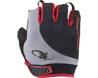 Image 1 for Lizard Skins Aramus Elite Short Finger Gloves (Jet Black/Crimson)