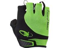 Image 1 for Lizard Skins Aramus Elite Short Finger Gloves (Jet Black/Green) (S)