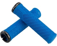 Image 2 for Lizard Skins Charger Evo Grips - Electric Blue, Lock-On