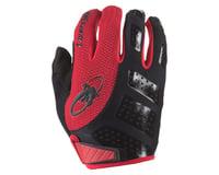 Image 1 for Lizard Skins Monitor SL Full Finger Gloves (Jet Black/Red) (S)