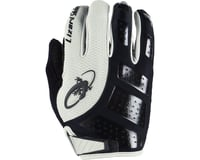 Image 1 for Lizard Skins Monitor SL Gel Full Finger Gloves (Black/White) (S)
