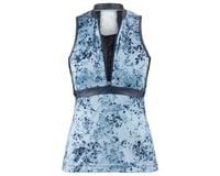 Image 3 for Louis Garneau Women's Art Factory Sleeveless Zircon Jersey (Blue) (XL)