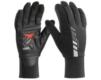 Louis Garneau Biogel Thermal Full Finger Gloves (Black)