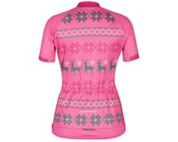 Image 2 for Louis Garneau Women's Holiday Ugly Jersey (Pink) (M)