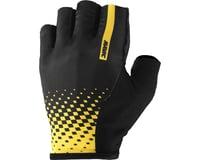 Image 1 for Mavic Cosmic Gloves (Black/Mavic Yellow)
