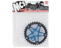 Image 2 for MCS Alloy Spider & Chainring Combo (33T) (Blue/Black)