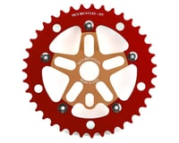 MCS Alloy Spider & Chainring Combo (39T) (Gold/Red) | relatedproducts