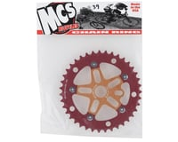 Image 2 for MCS Alloy Spider & Chainring Combo (39T) (Gold/Red)