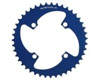 Image 1 for MCS 4-Bolt Chainring (Blue) (43T)