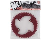 Image 2 for MCS 4-Bolt Chainring (Red) (45T)