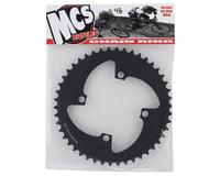 Image 2 for MCS 4-Bolt Chainring (Black) (46T)