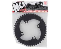 Image 2 for MCS 4-Bolt Chainring (Black) (47T)