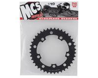 Image 2 for MCS 5-Bolt Chainring (Black) (40T)