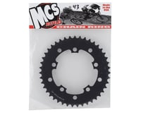 Image 2 for MCS 5-Bolt Chainring (Black) (43T)