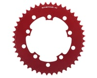 Image 1 for MCS 5-Bolt Chainring (Red) (44T)