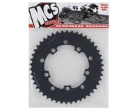 Image 2 for MCS 5-Bolt Chainring (Black) (46T)