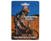 MCS Alloy Chainring Bolts (Black)