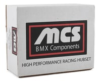 Image 2 for MCS Pro Cassette Hubset (Blue) (36H)