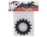 """Image 2 for MCS Aluminum Cog (3/32"""") (Black) (15T)"""