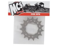 "Image 2 for MCS Chromoly Cog (3/32"") (Nickel) (15T)"