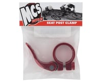 """Image 2 for MCS Quick Release Seatpost Clamp (1-1/4"""") (31.8) (Red)"""
