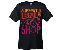 Mechanical Threads Support Your Local Shop: Black Sm