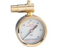 Meiser Presta-Valve Dial Gauge w/ Pressure Relief (30psi) | relatedproducts