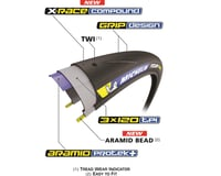Image 4 for Michelin Power Road Tire (Black) (700 x 25)