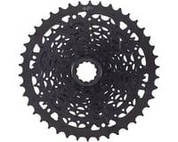 Microshift Advent 9-Speed Cassette w/ Alloy Large Cog (Black)