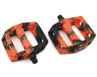 Mission Impulse PC Pedals (Black/Orange Splash)