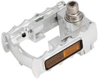 """Image 2 for Mks FD-7 Folding Platform Pedal: 9/16"""" Alloy Silver"""